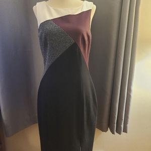 WHBM Ponte Sheath Dress